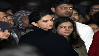 Jnu में Deepika Padukone को लेकर हुई जंग जानिए जीती किसने
