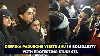 Deepika Padukone Attends JNU Students Protest Against Campus Attack | Chhapaak Movie Team