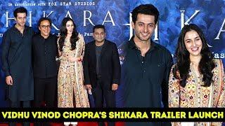 Vidhu Vinod Chopra's SHIKARA Official Trailer Launch | A. R. Rahman | Aadil Khan | Sadia