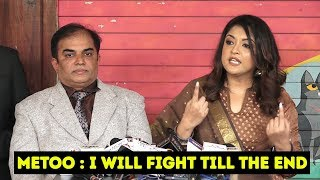 Tanushree Dutta Press Conference On MeToo With Her Advocate | I Will Fight Till The End