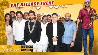 Ala Vaikunthapurramuloo Musical Concert - Allu Arjun, Pooja Hegde | Trivikram | Thaman S