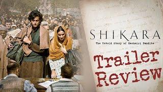 """Shikara"" Trailer Review | The Untold Story of Kashmiri Pandits | Sadia, Aadil Khan | Satya Bhanja"