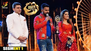IBFA 2019 | SINGAPORE | PAWAN SINGH | AMRAPALI DUBEY | INTERNATIONAL BHOJPURI AWARD