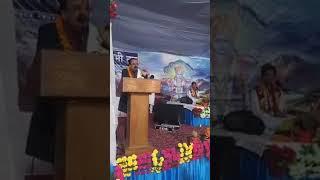 श्रीमद्भागवत कथा परेड ग्राउंड देहरादून में अजय भट्ट जी का आगमन
