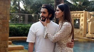 Sunny Singh Along With Sonnalli Seygall Spotted Promoting Their Film Jai Mummy Di At JW MARRIOTT