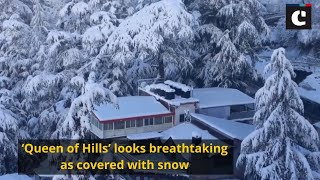 'Queen of Hills' looks breathtaking as covered with snow