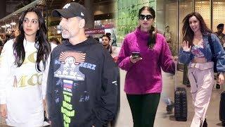 Shraddha Kapoor, Akshay Kumar, Kiara & Other Celebs Spotted At Mumbai Airport