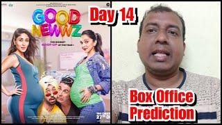 Good Newwz Box Office Prediction Day 14