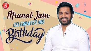 TV Star Mrunal Jain Celebrates His Birthday In Style