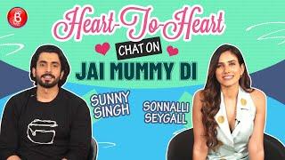 Sunny Singh & Sonnalli Seygall's Heart-To-Heart Chat On Jai Mummy Di