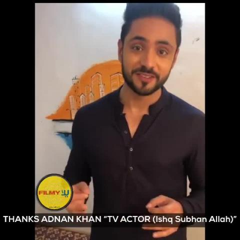 Thanks alot 'Adnan' for the beautiful message and congratulating our new show 'Yalla Filmy'