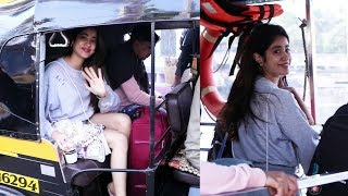 Janhvi Kapoor Spotted In Grey Denim Shorts At Madh For Jetty