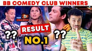 Bigg Boss 13   Comedy Club WINNERS   Shehnaz No.1   Asim Riaz   Sidharth Shukla   BB 13 Video