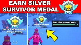 Earn Silver Survivor Medals Fortnite (How to get Silver Survivor Medal)
