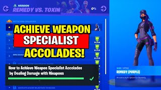 How to Achieve Weapon Specialist Accolades by Dealing Damage with Weapons (Easy Method)