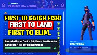 How to Be First to Catch a Fish, First to Land from the Battlebus or First to get an Elimination