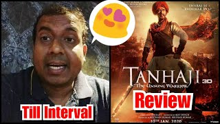 Tanhaji Review Till Interval, Saif Ali Khan Surprises Along With Ajay Devgn