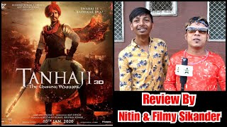 Tanhaji Review By Nitin And Filmy Sikander