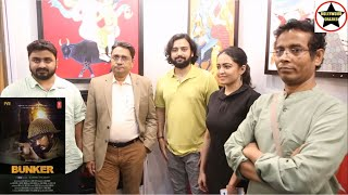 Team Bunker's promotion stop at India Art Festival to boost morale of Indian Artists