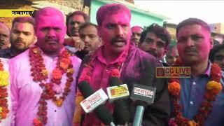 नवागढ़ नपं में कांग्रेस के भुवनेश्वर बने अध्यक्ष व निर्दलीय के अनिल बने उपाध्यक्ष cglivenews