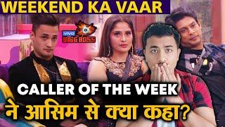 Bigg Boss 13 | Asim Riaz GETS Call From CALLER OF THE WEEK; Here's What | Weekend Ka Vaar | BB 13
