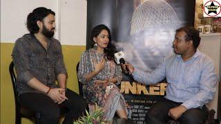Actors Abhijeet Singh, Arindita Kalita & Director Jugal Raja talking about upcoming movie Bunker