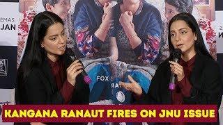 Kangana Ranaut About JNU Issue And About Her Upcoming Movie Panga