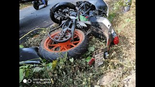 One Killed In Accident Between KTM Bike And WagonR At Bicholim