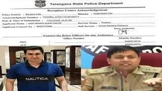 DCP IPS Avinash Mohanty Par Case Booked | In Banjarahills Hyderabad | @ SACH NEWS |
