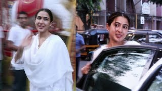 Sara Ali Khan With Mother Amruta Takes Blessing Of Shani Dev