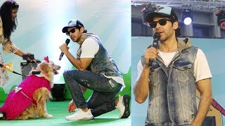 Dino Morea Attend PET FED India's Biggest Pet Festival