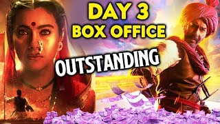 TANHAJI Day 3 Official Box Office Collection | Ajay Devgn, Kajol | Tanhaji: The Unsung Warrior