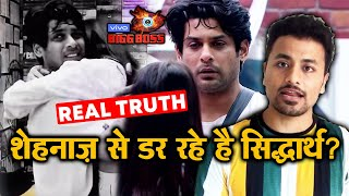 Bigg Boss 13 | Sidharth Shukla SCARED Of Shehnaz Gill; Here's Why | BB 13 Latest Video