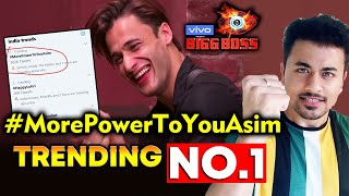 Bigg Boss 13 | Asim Riaz Fan's Trend #MorePowerToYouAsim NO.1 | BB 13 Video