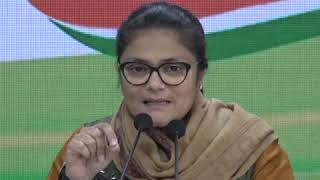 Fact Finding Committee on JNU Violence: Sushmita Dev addresses media at Congress HQ