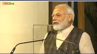 PM Modi quotes Dr. Shyama Prasad Mookerji on protecting India's heritage.