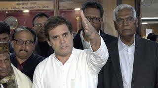 Shri Rahul Gandhi briefs media after opposition parties meet on CAA, NRC