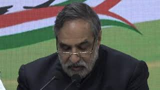 Anand Sharma addresses media on Congress Working Committee meeting