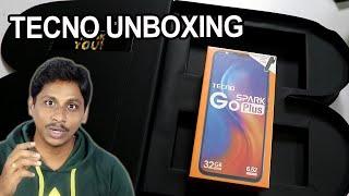 techno spark go plus unboxing telugu