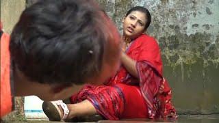 প্রবাসীর বউয়ের উপর দুধ ওয়ালার নজর। Bangla natok short film 2019, Mrittika Ezpress