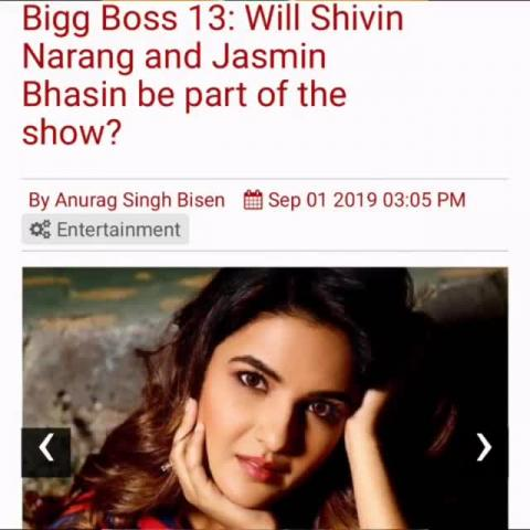 Is Jasmin going to Bigg Boss - Thanks to Team Golecha for arranging this interview