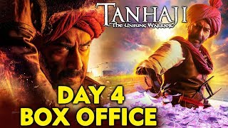 TANHAJI Day 4 Official Box Office Collection | Ajay Devgn, Kajol | Tanhaji: The Unsung Warrior