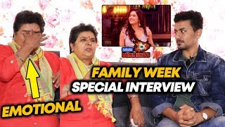 Bigg Boss 13 Family Week | Madhurima Tuli Mom BREAKS Down During Interview | Sidharth, Shehnaz, Asim