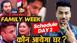 Bigg Boss 13 | Family Enters House | DAY 2 Schedule | BB 13 Latest Video