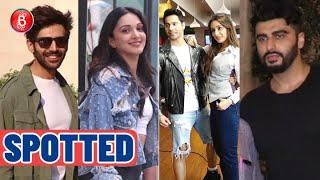 Kartik Aaryan, Kiara Advani, Varun Dhawan-Shraddha Kapoor, Arjun Kapoor Spotted Around B-Town