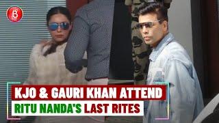 Karan Johar & Gauri Khan Off To Offer Condolences After Ritu Nanda's Demise