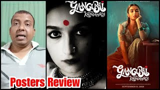 Gangubai Kathiawadi Posters Look Review