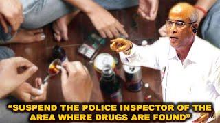 Suspend The Police Inspector Of The Area Where Drugs Are Found: Babu Azgoankar