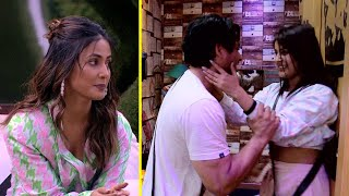 Bigg Boss 13 | Shehnaaz Gill romances Sidharth Shukla | Hina Khan Entered into the House