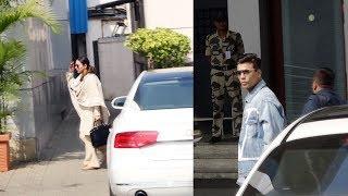 Karan Johar And Gauri Khan Travel To Delhi Spotted At Mumbai Airport